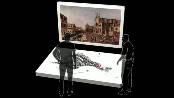 Frédéric Kaplan, Projektleiter des Venice-Time-Machine-Project, erklärt den Gedanken hinter der venezianischen Zeitmaschine.