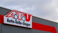 Eine ATU Werkstatt. Michelin steigt mit 20 Prozent bei Auto-Teile-Unger ein.