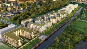 Die wachsende Stadt Leipzig drängt ans Wasser