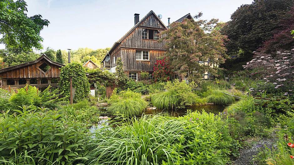 Biotop de luxe: Ommertalhof im Bergischen Land