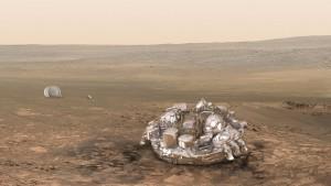Endlich Marsianer – gestrandet und entrückt