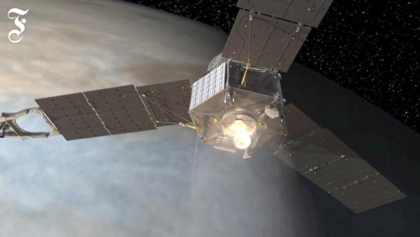 """Die Raumsonde """"Juno"""" hat den Jupiter erreicht"""