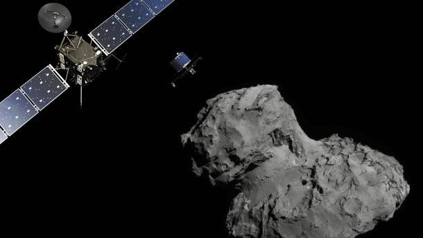 Die Spuren vergangener Kometen