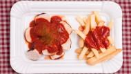 Der Studenten liebstes Mensaessen: die Currywurst.