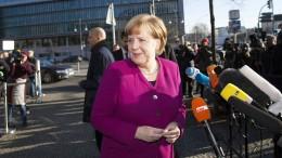 Merkel warnt vor unruhigen Zeiten